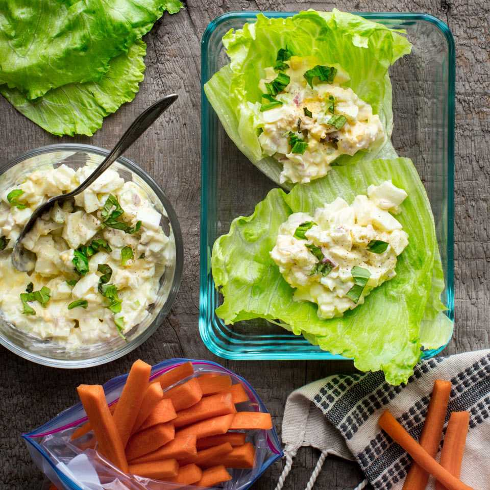 Egg Salad Lettuce Wraps Trusted Brands
