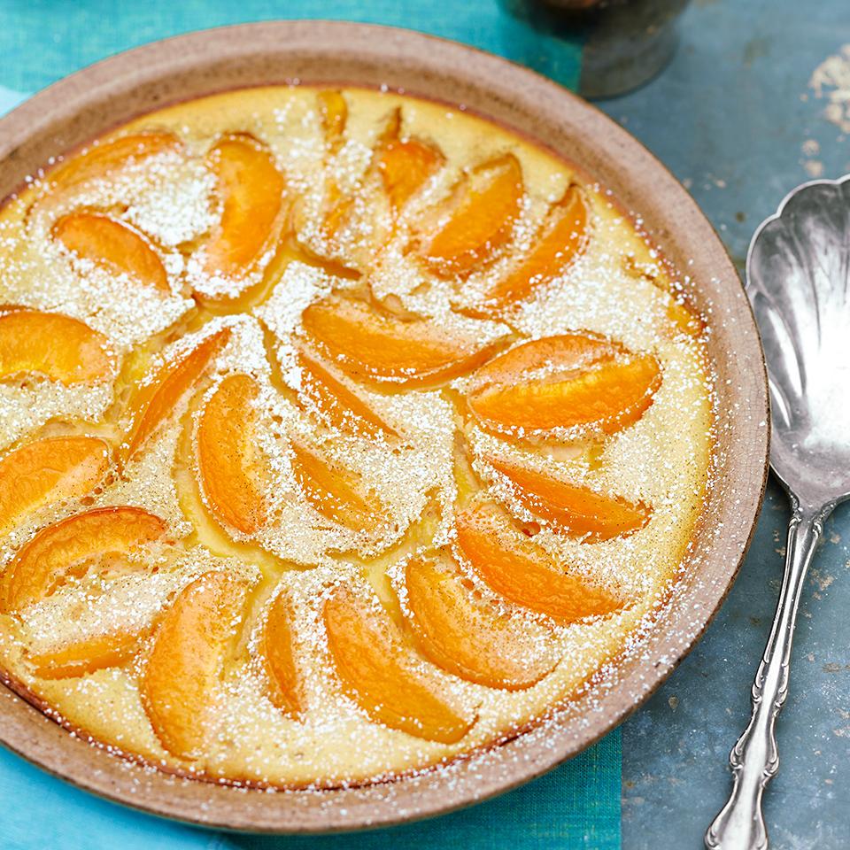 Apricot-Vanilla Clafoutis Diabetic Living Magazine