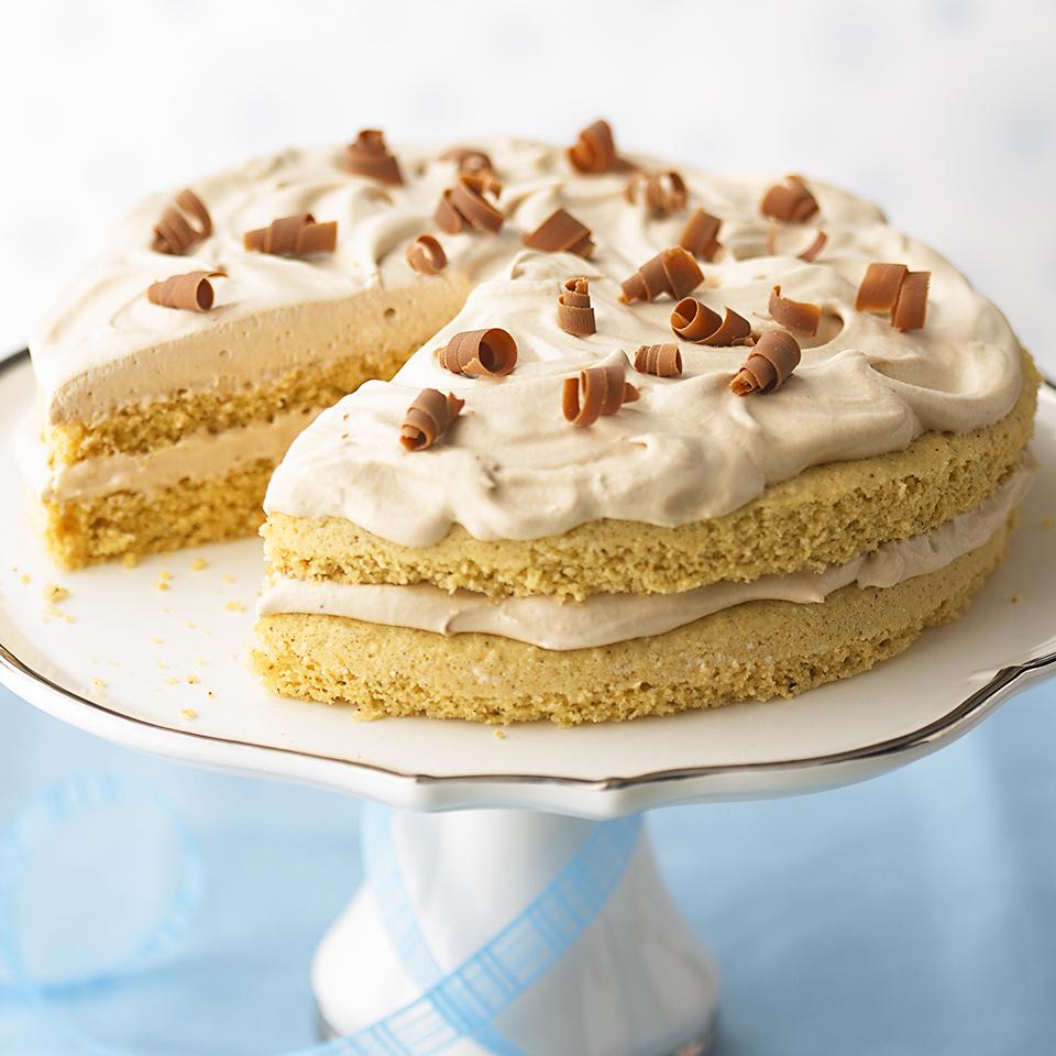 Hazelnut-Mocha Torte Trusted Brands