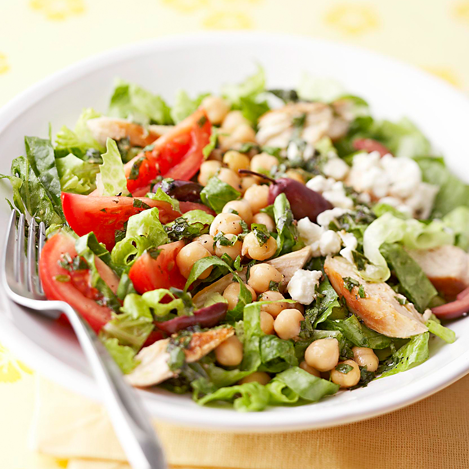 Mediterranean Chicken Salad Diabetic Living Magazine