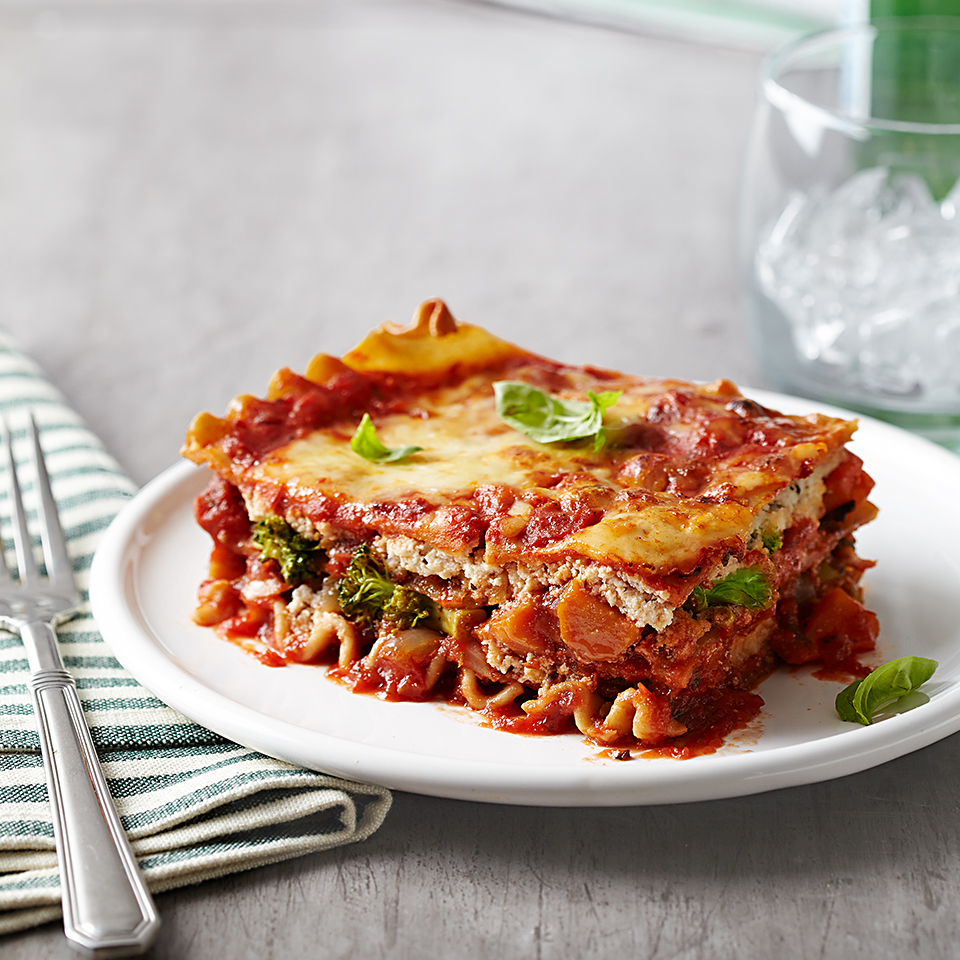 Roasted Vegetable Lasagna Recipe Eatingwell