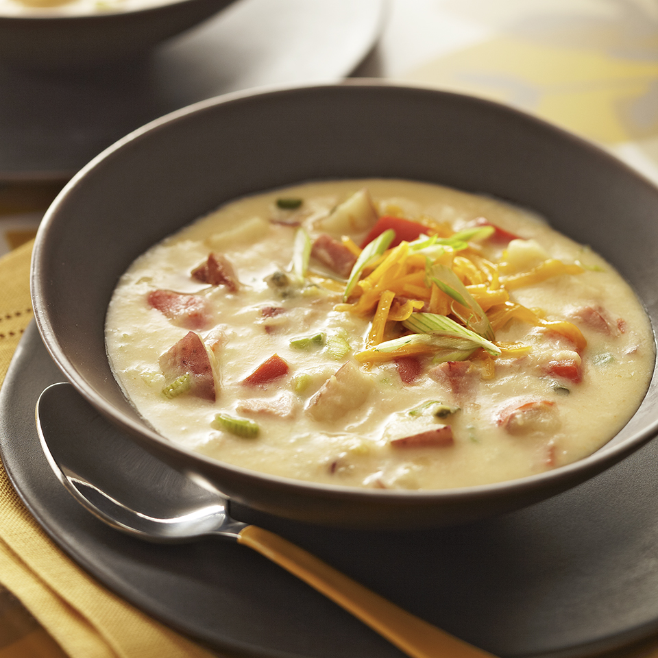 Hearty Ham and Potato Soup Diabetic Living Magazine