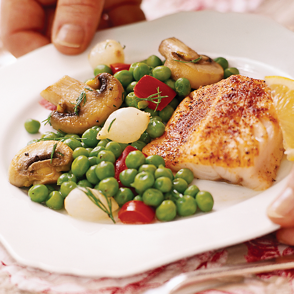 Seasoned Cod Diabetic Living Magazine