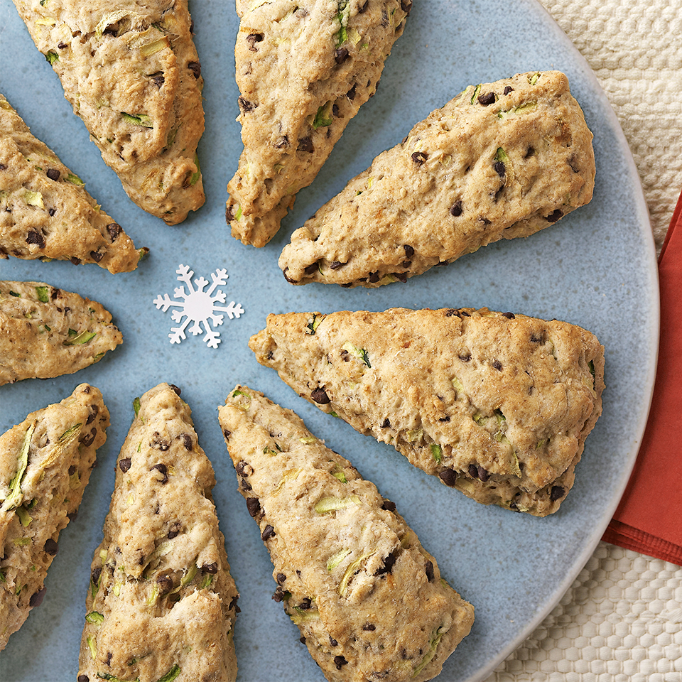 Zucchini-Chocolate Chip Scones Trusted Brands