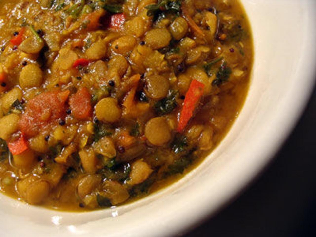 Vegan Green Lentil Curry