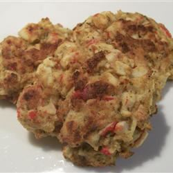 Baked Maryland Lump Crab Cakes