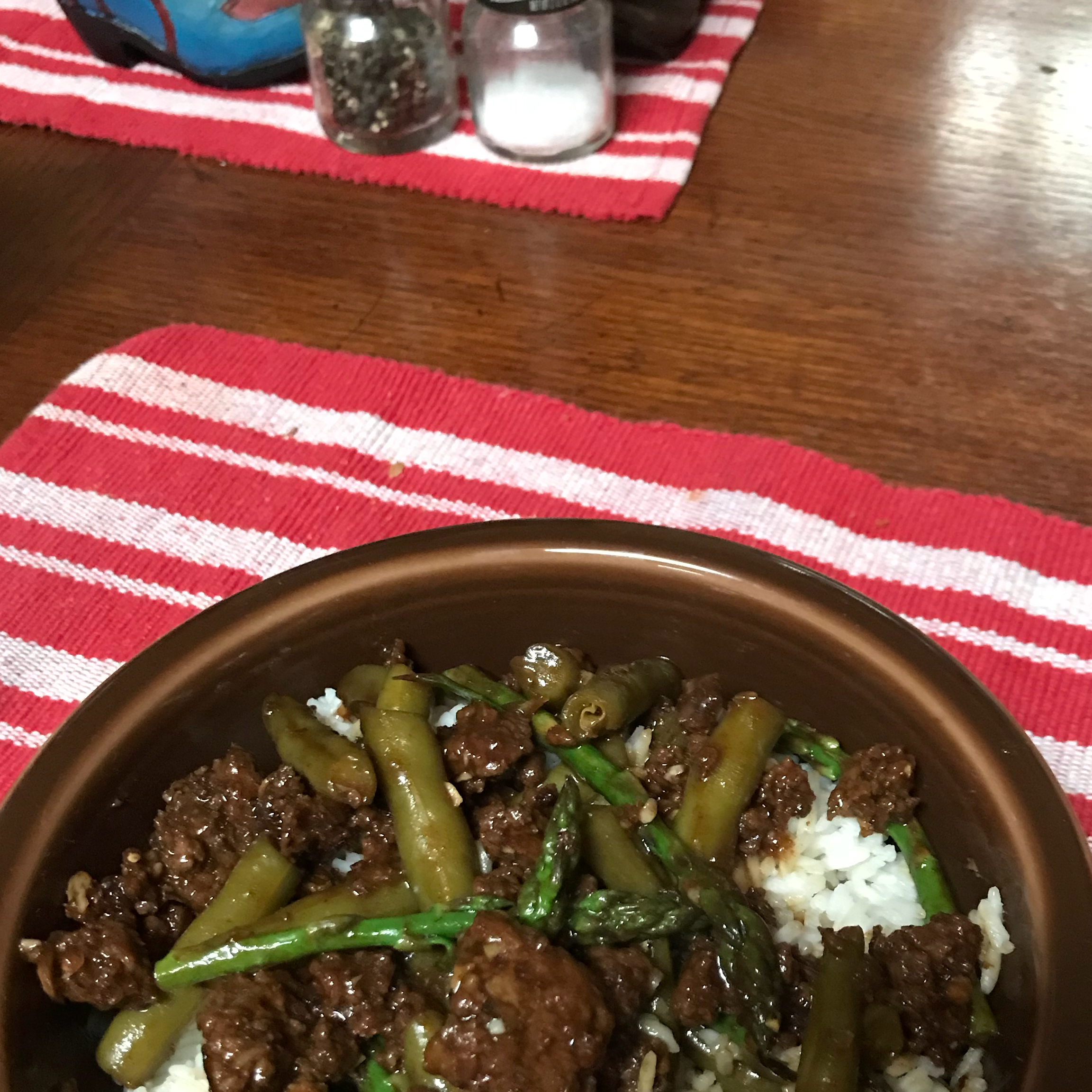 Gel's Green Beans and Beef TinyFromTexas