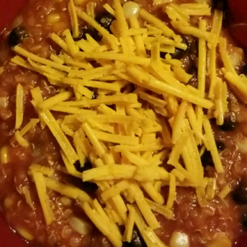 Quinoa and Black Bean Chili from GOYA® Nicole Henley