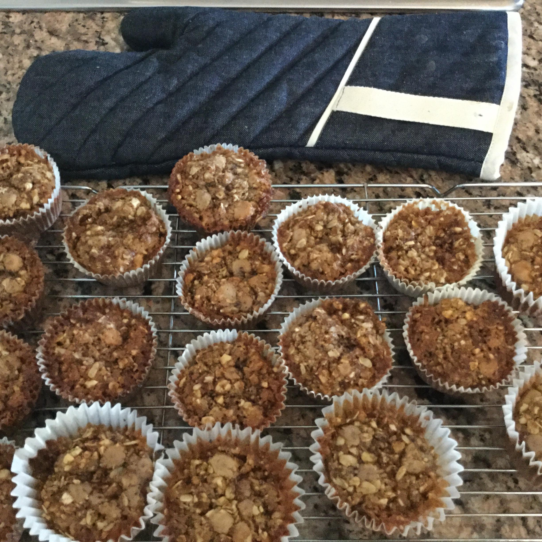 Gluten-Free Cherry Cobbler Muffins Claire