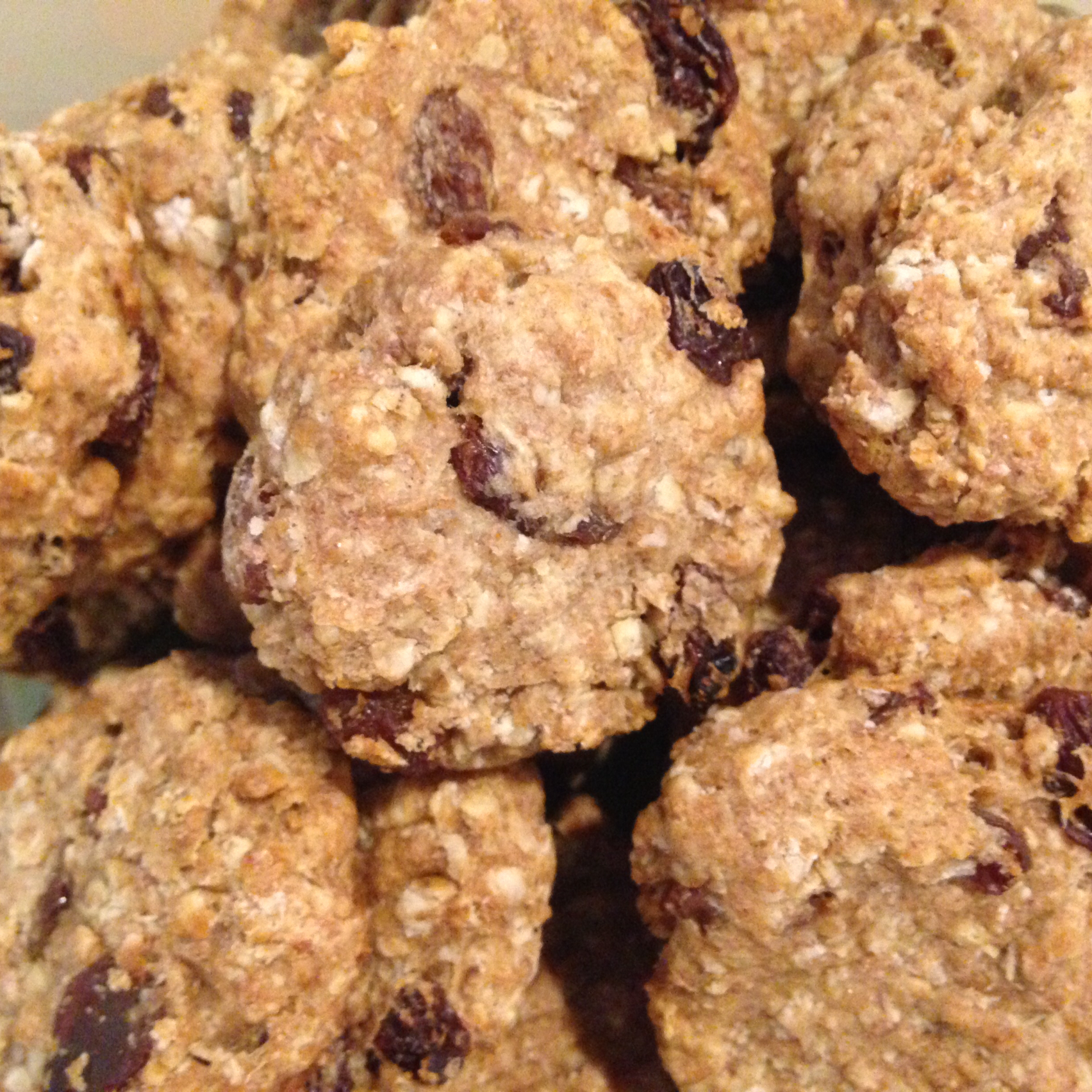 Mom's Raisin Oatmeal Cookies