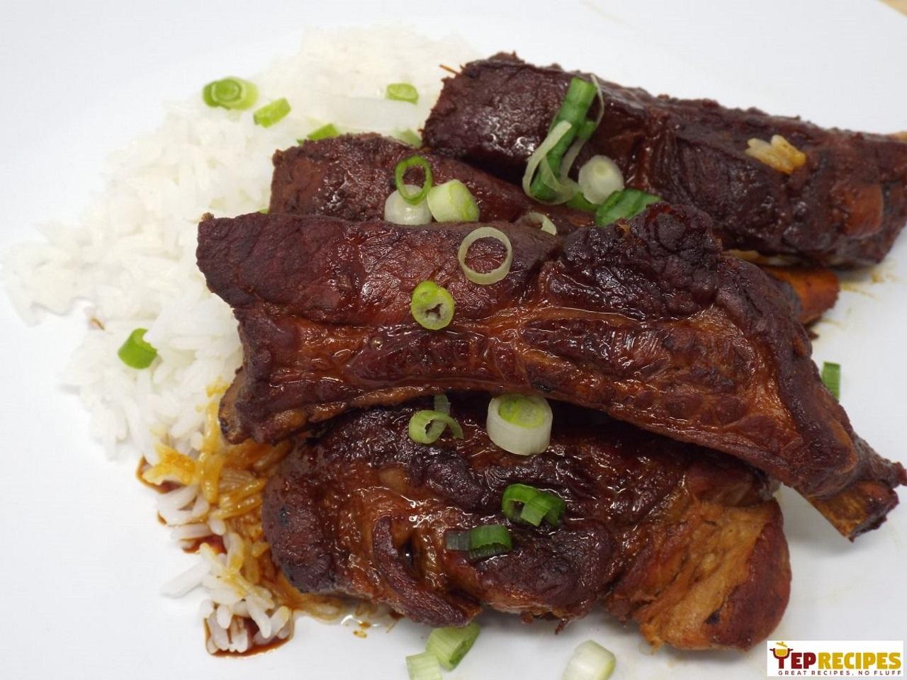 Japanese-Style Braised Pork Ribs