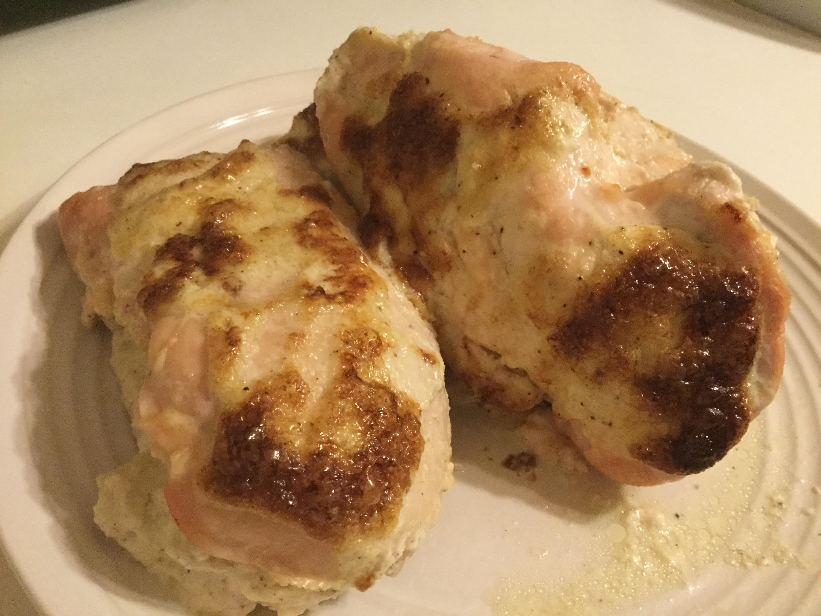 Cheesy Stuffed Lemon Chicken Breasts