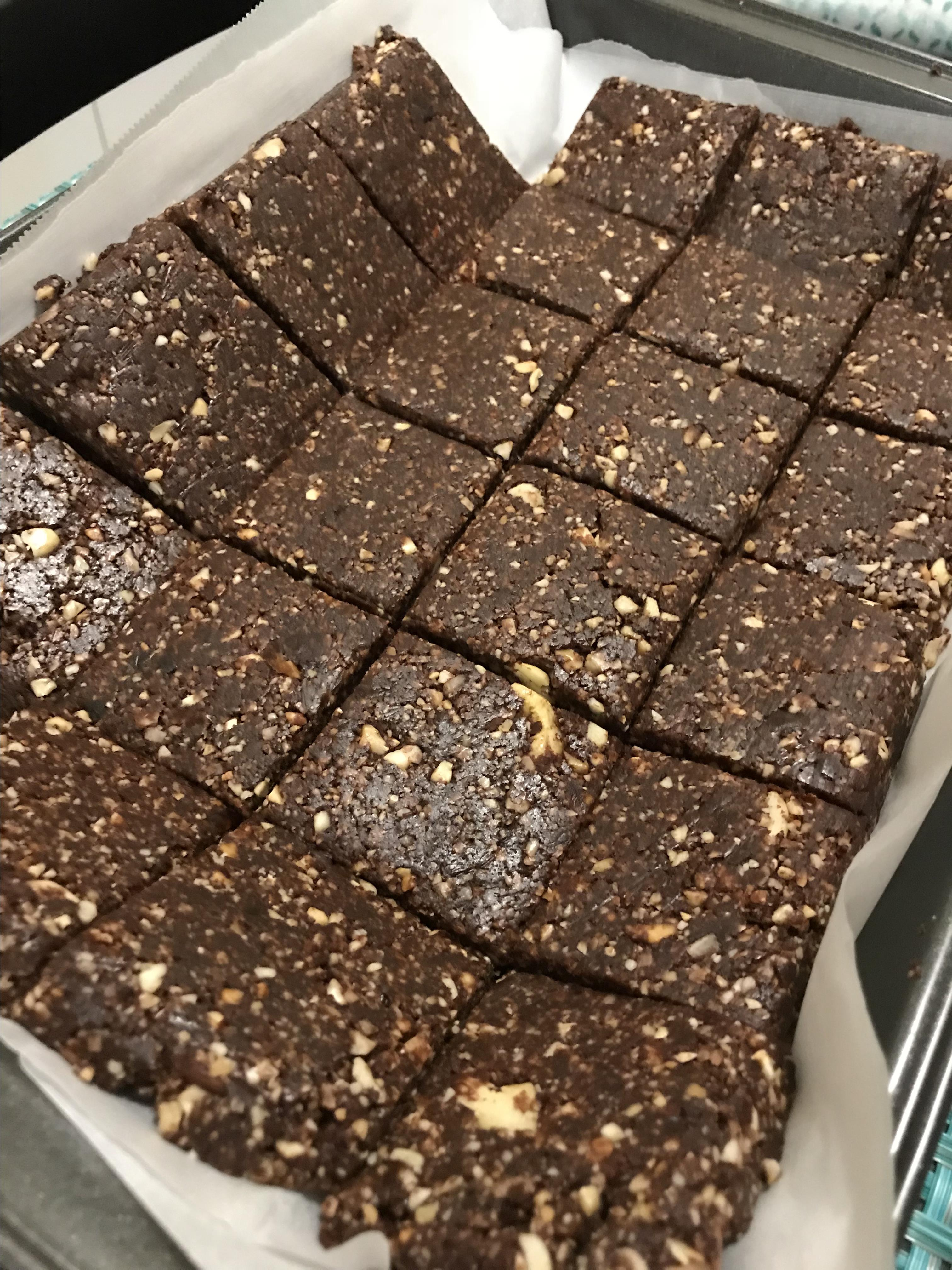 Chef John's Chocolate Energy Bars Britni Marie Williams