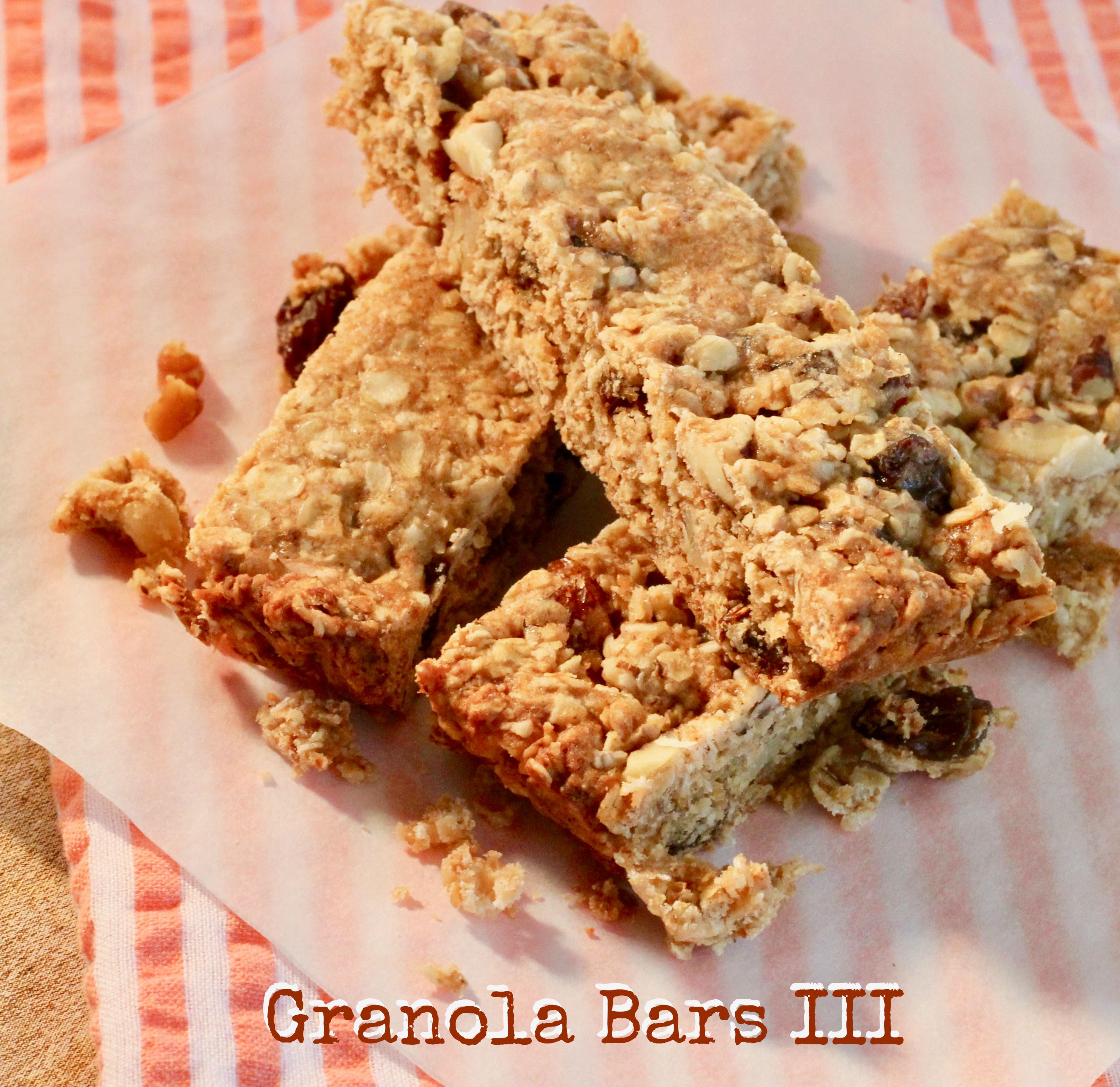 Granola Bars III