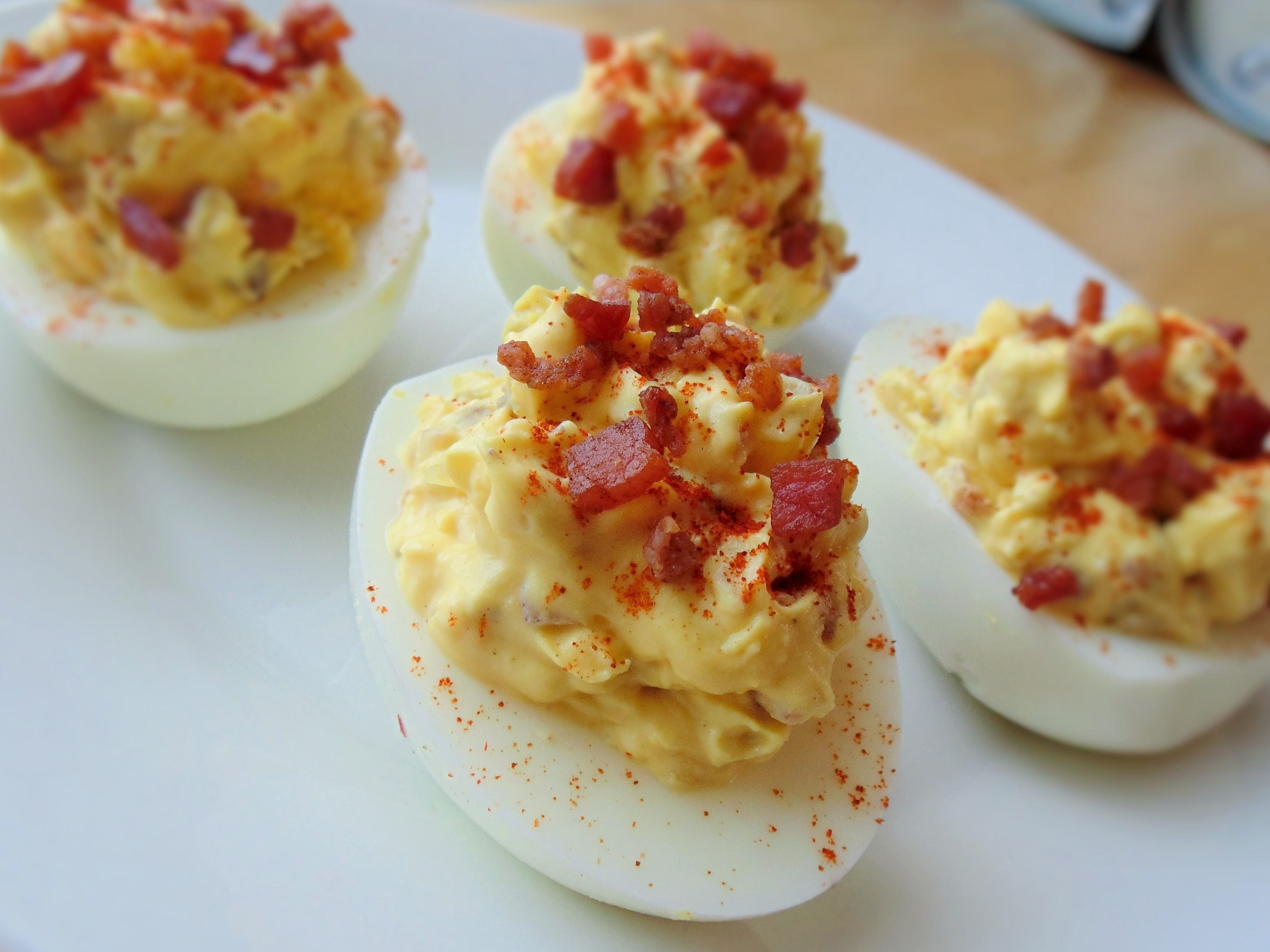 Simply The Best Deviled Eggs Recipe Allrecipes