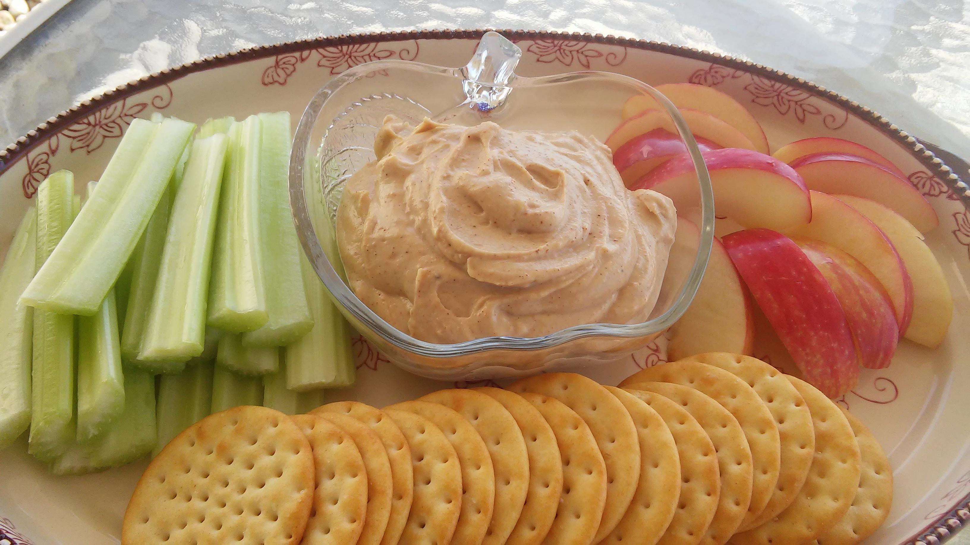 Spiced Peanut Butter Yogurt Dip Tammy Lynn