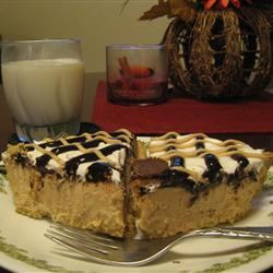 Decadent Peanut Butter Pie Lacee