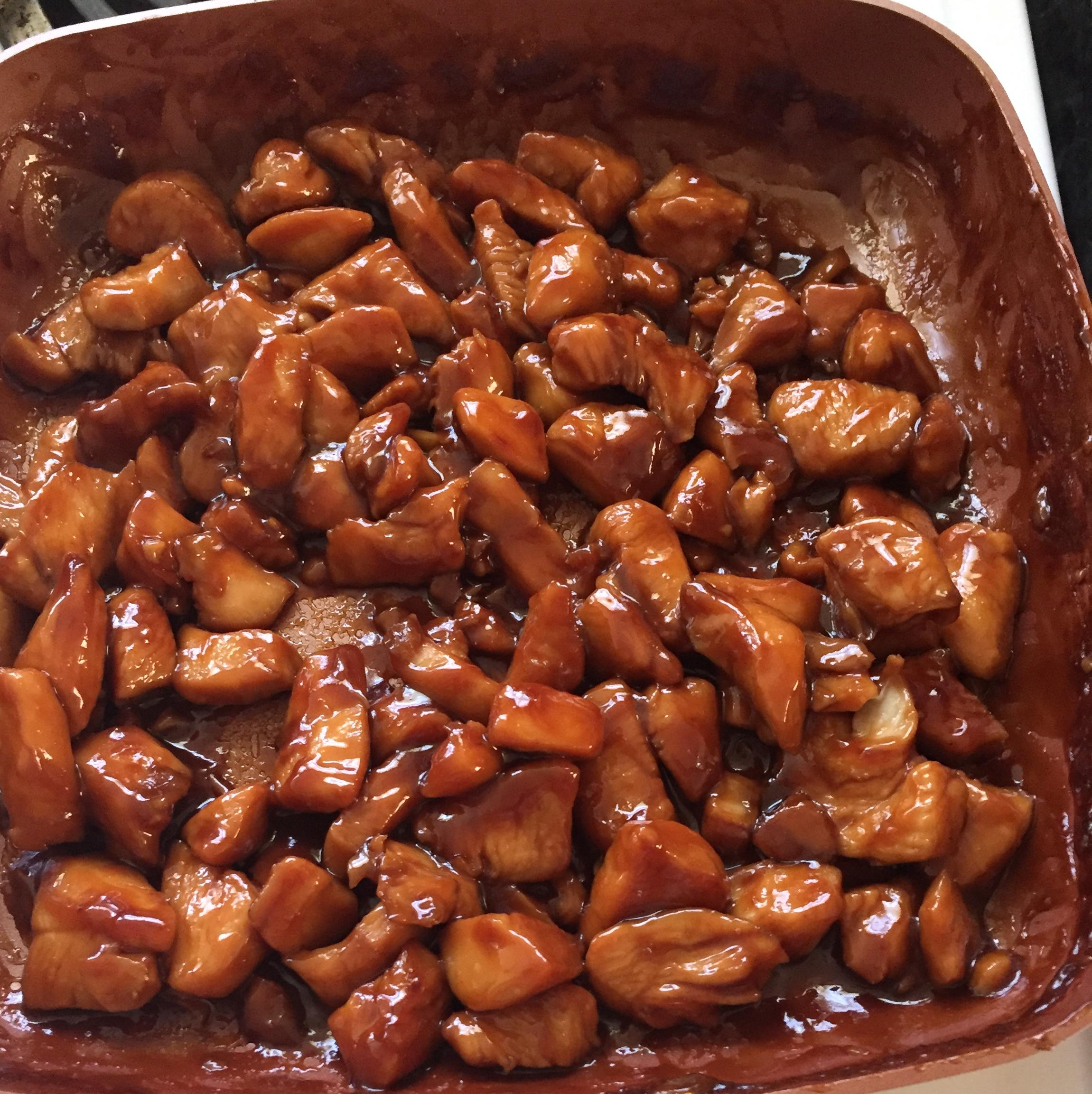 Bourbon Chicken