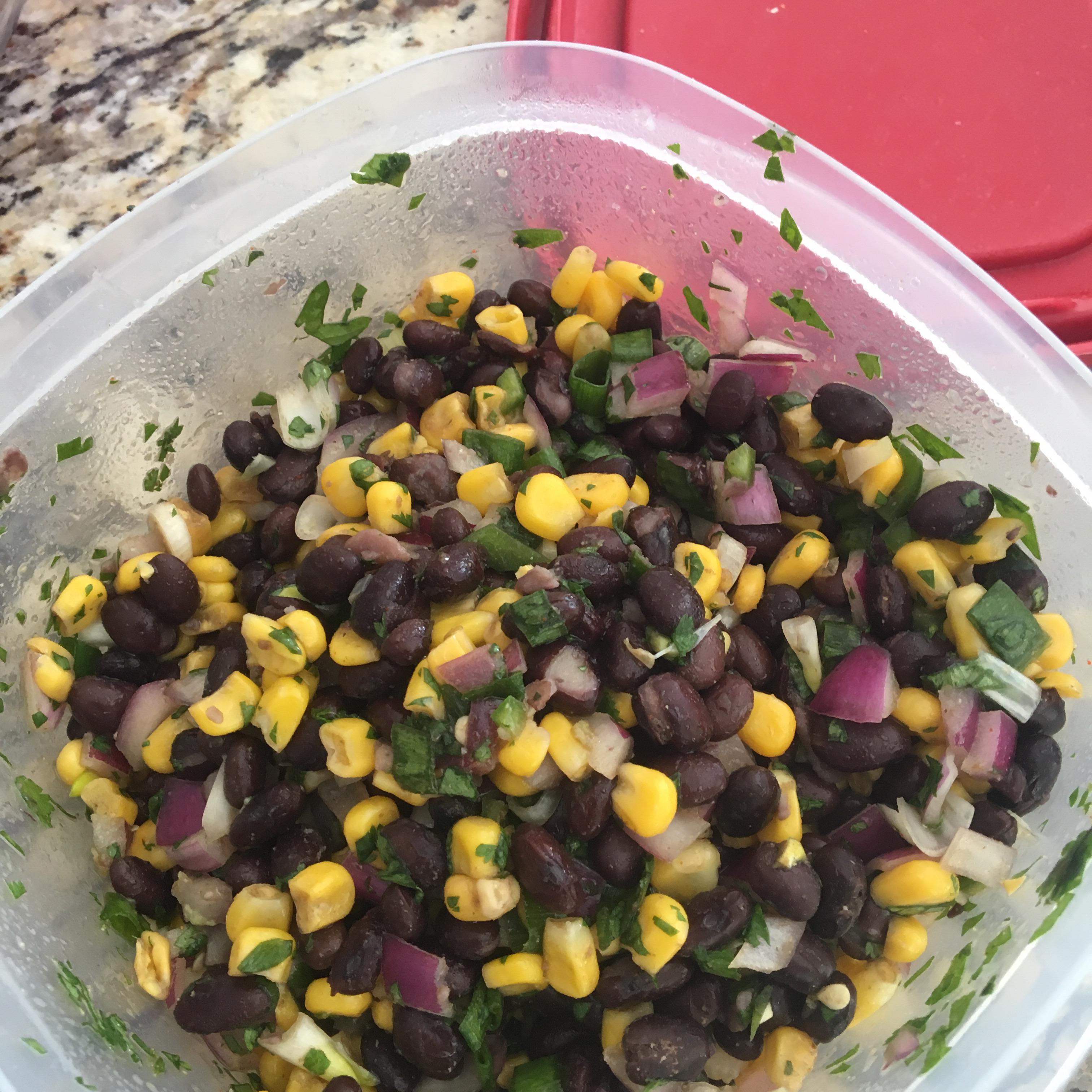 Black Bean and Corn Salsa Cardiacolt