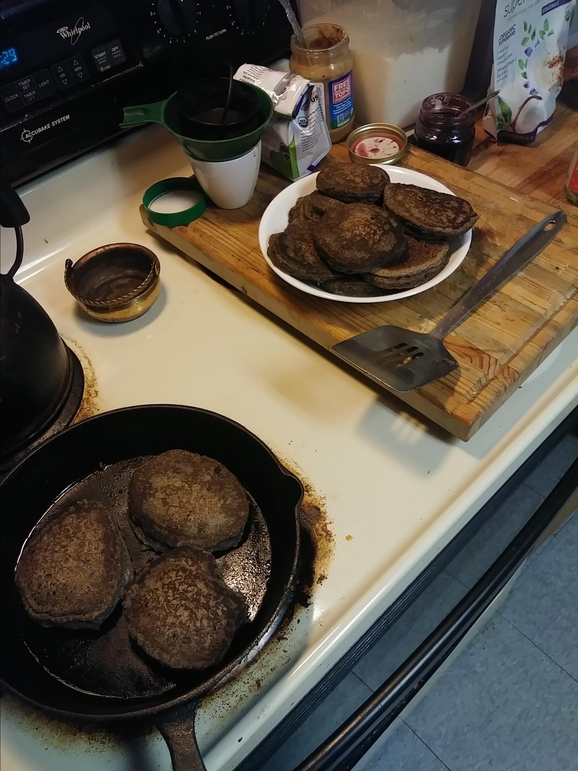 Buckwheat Pancakes Chad Chadwell