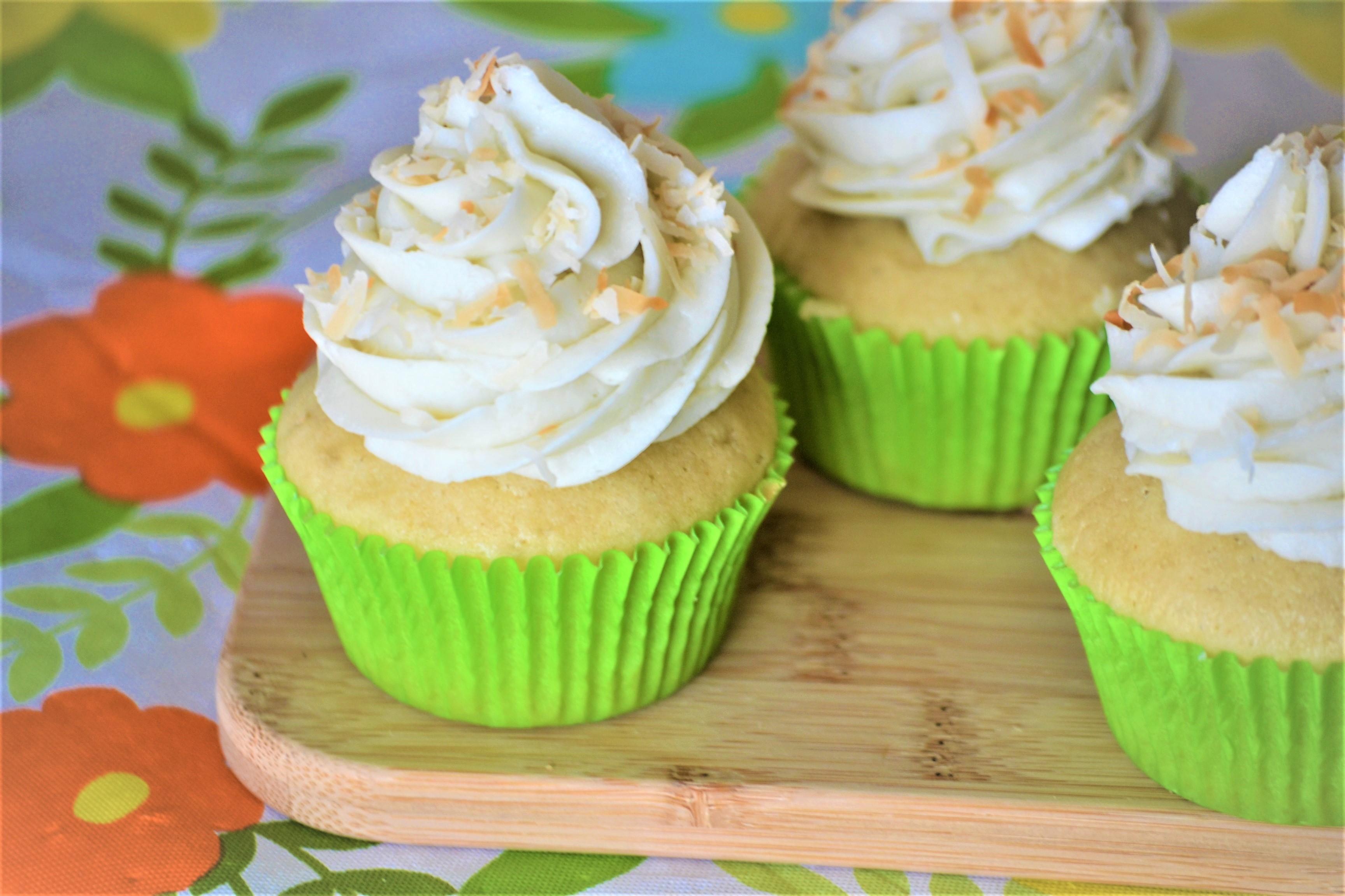 Coconut Cupcakes Kim