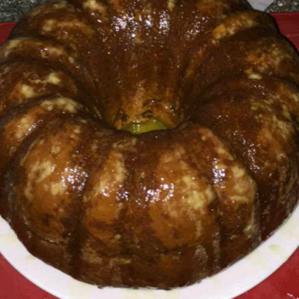 Honey Cake with Orange Glaze
