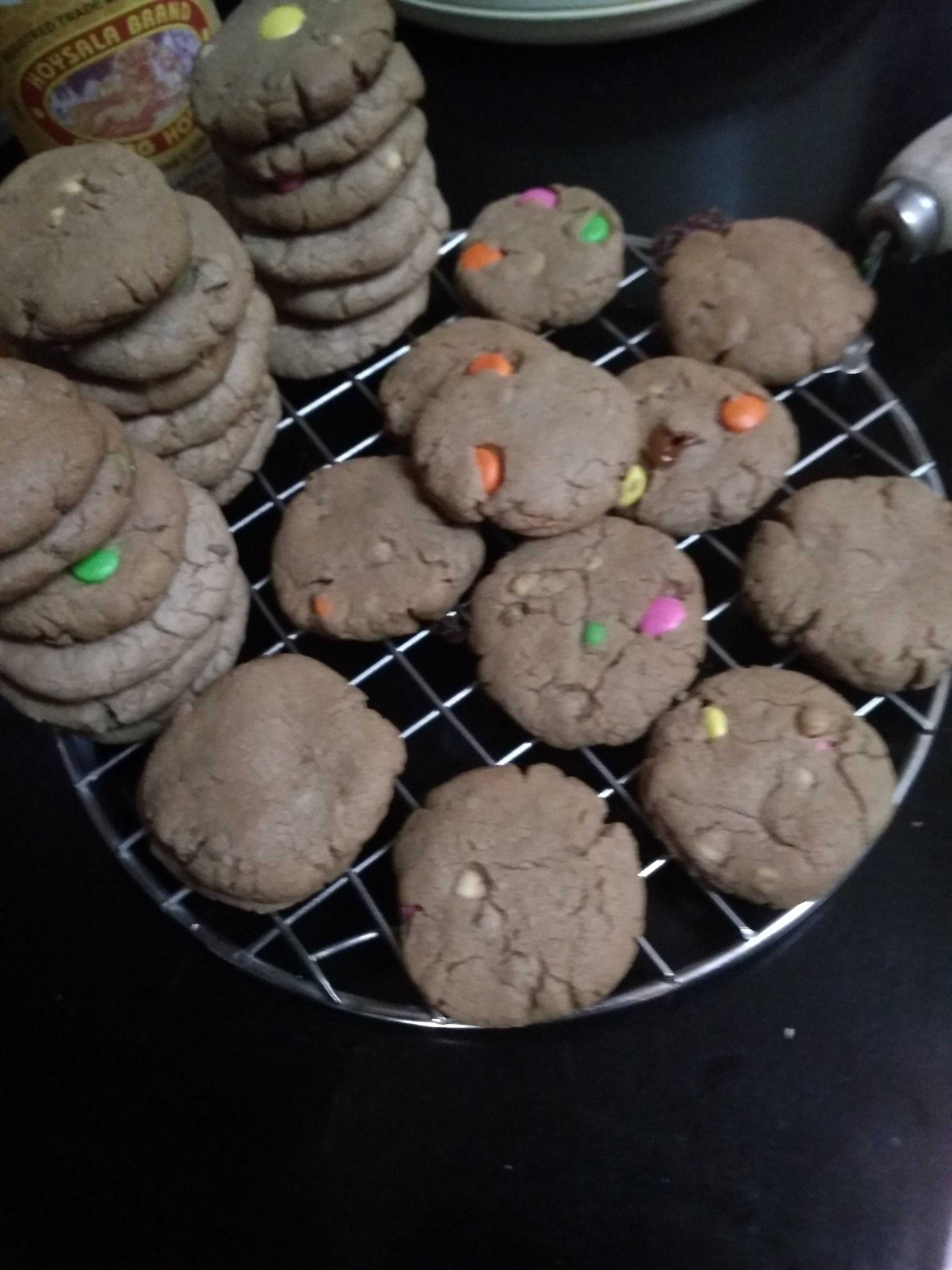 Chocolate Lover's Dream Cookies Gayatri