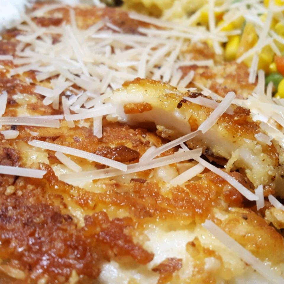Almond-Crusted Tilapia Nessa