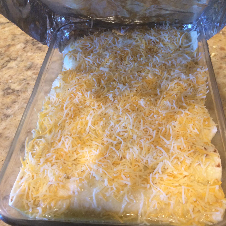 Chicken Enchiladas Suizas