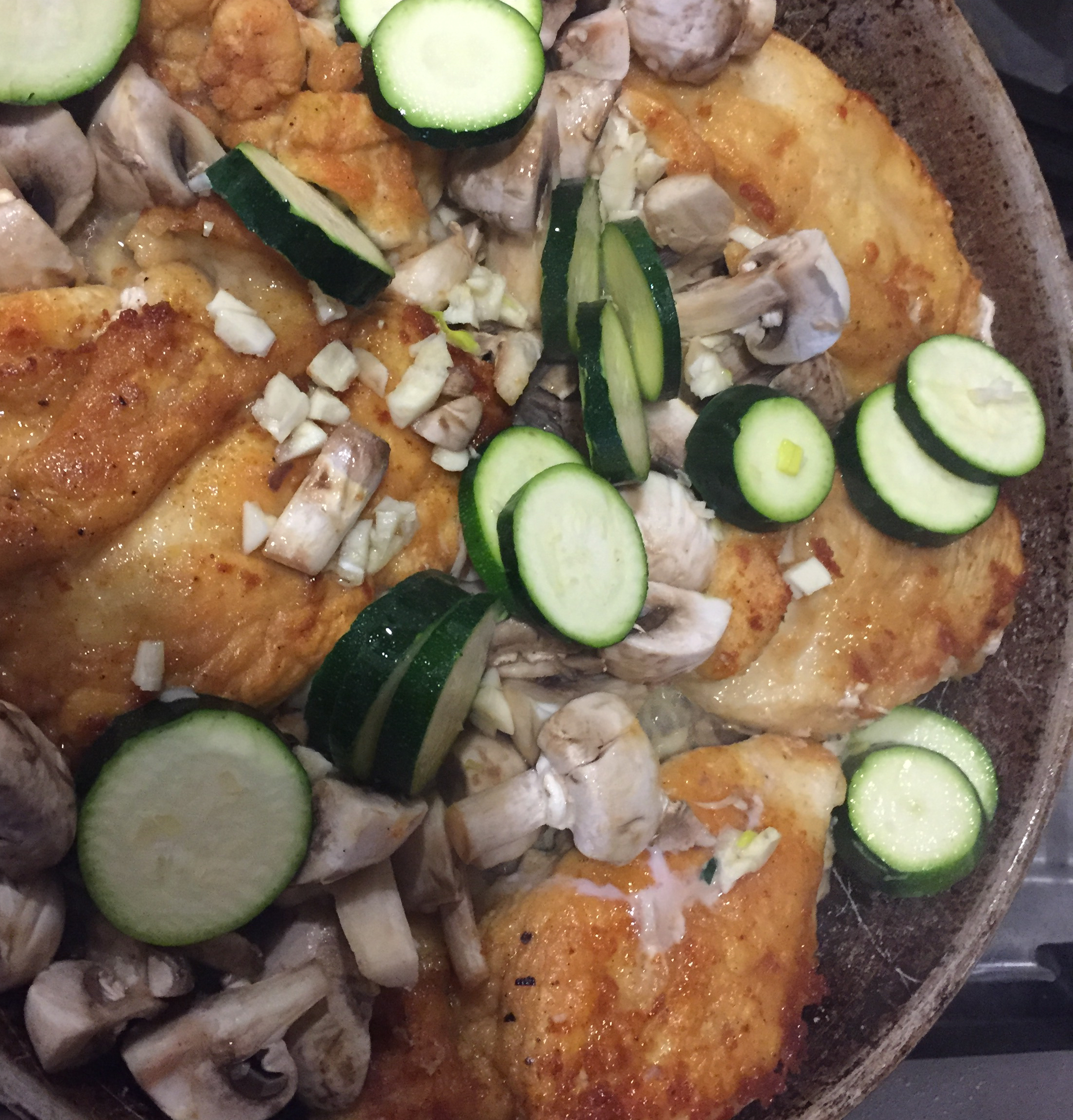 Garlic Wine Chicken