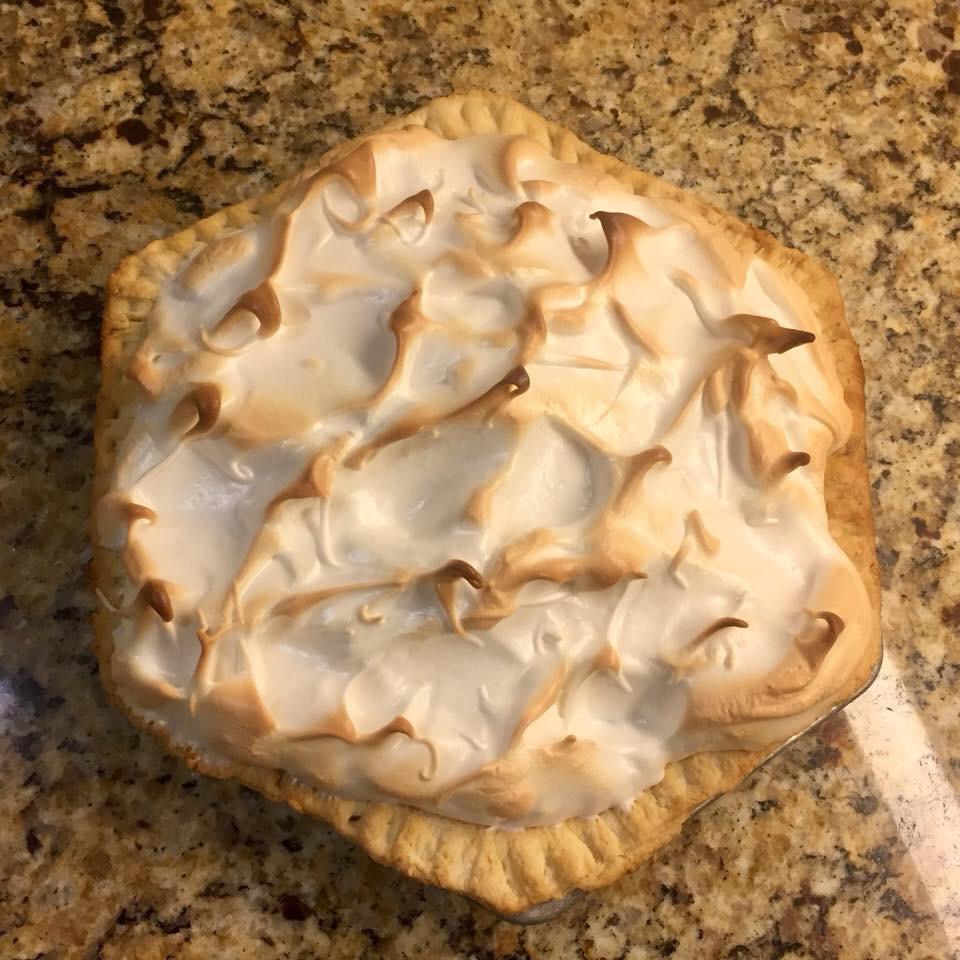 Grandma's Cocoa Meringue Pie