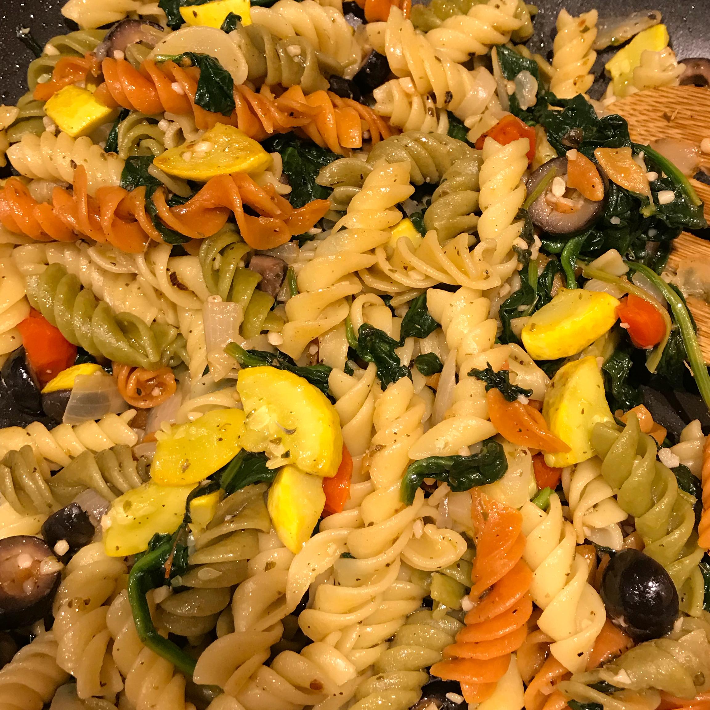 One Dish Vegetarian Dinner
