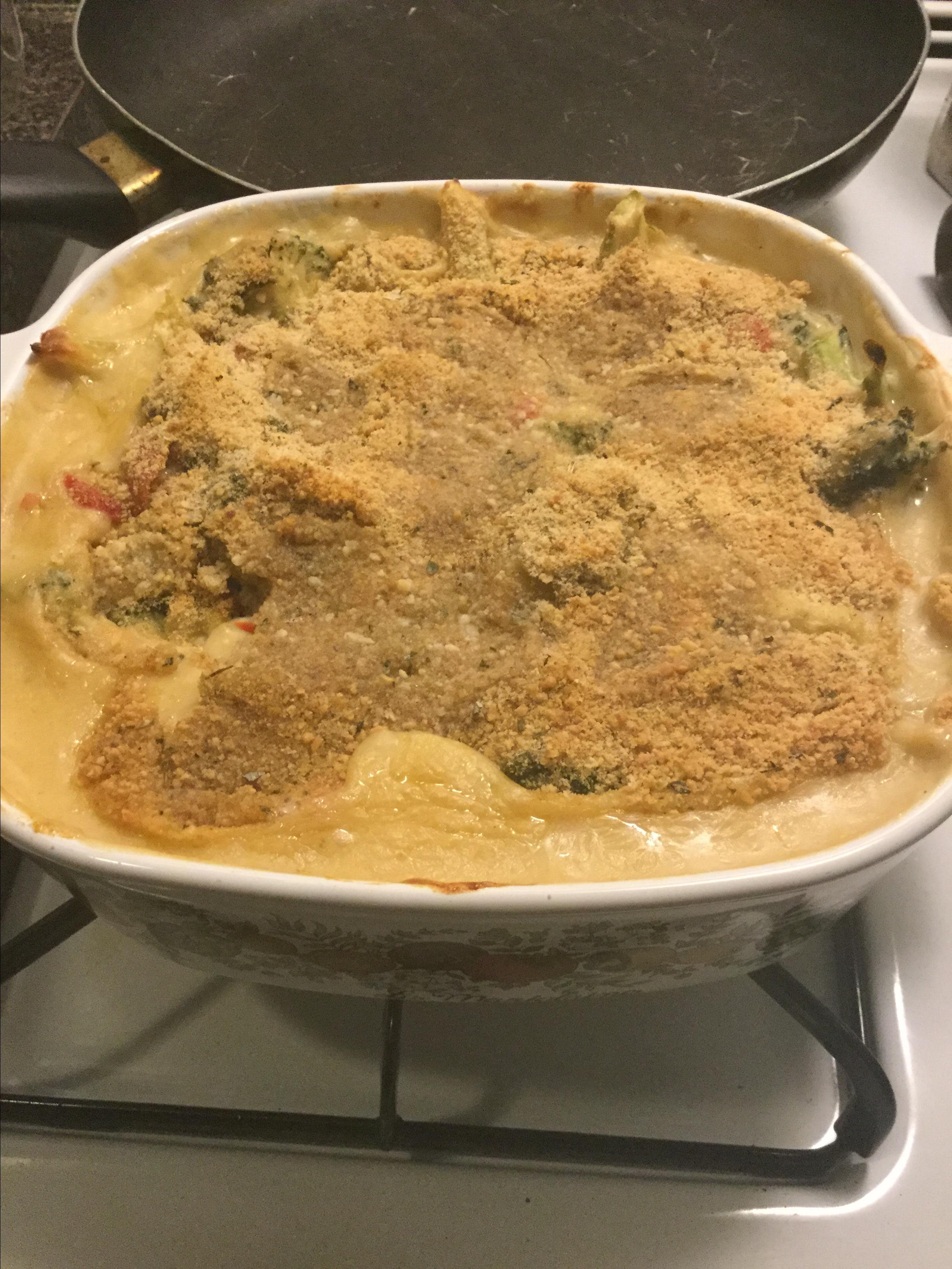 Healthy Broccoli Cheese Bake Lebron