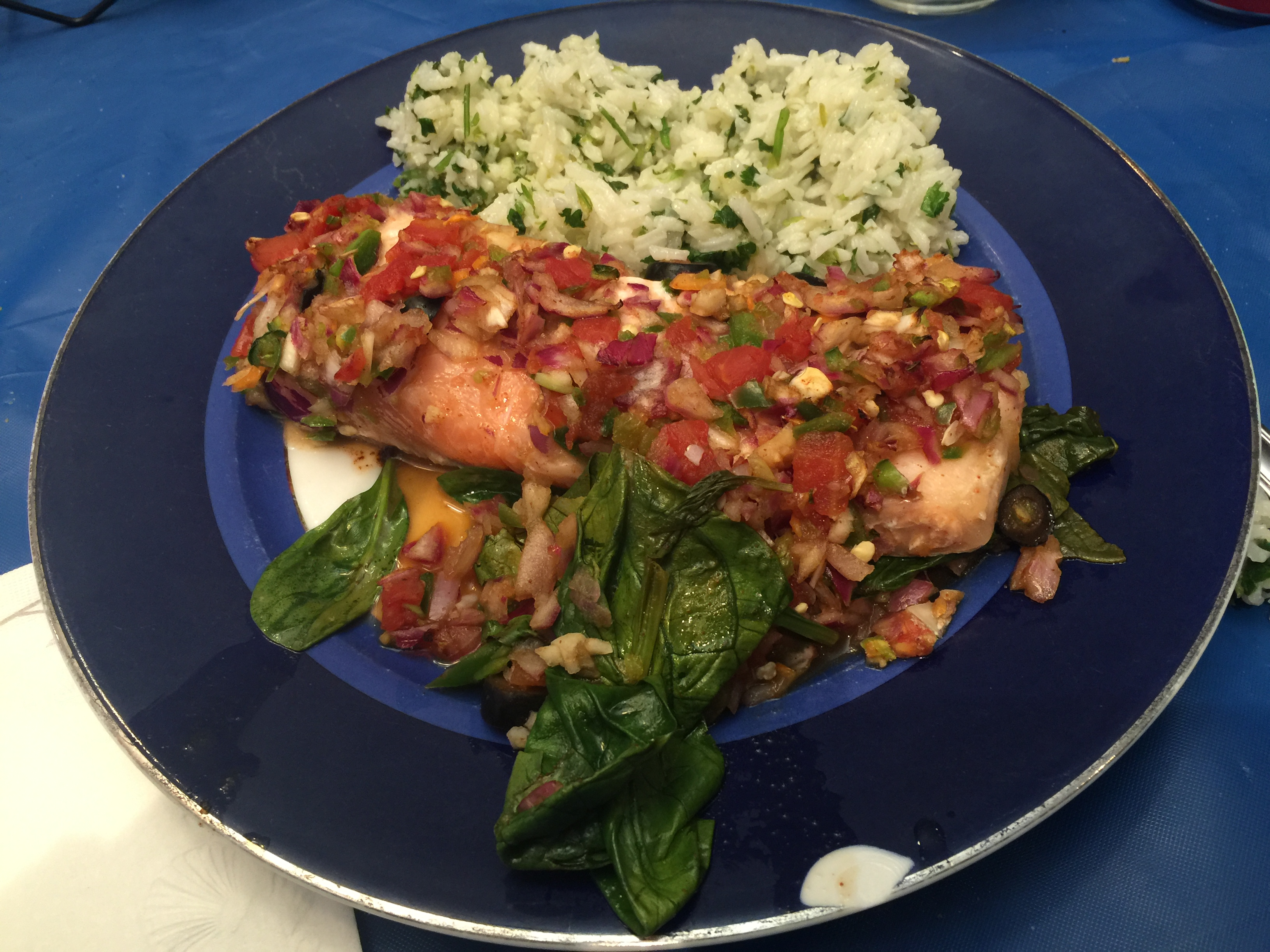Spicy Hot Pepper Salmon