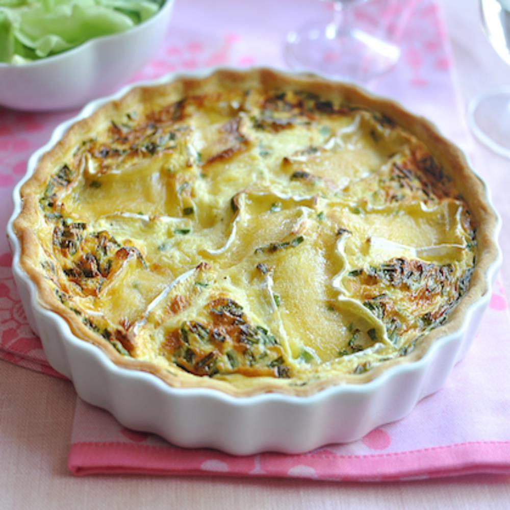 Tarte au Camembert (French Cheese Tart)