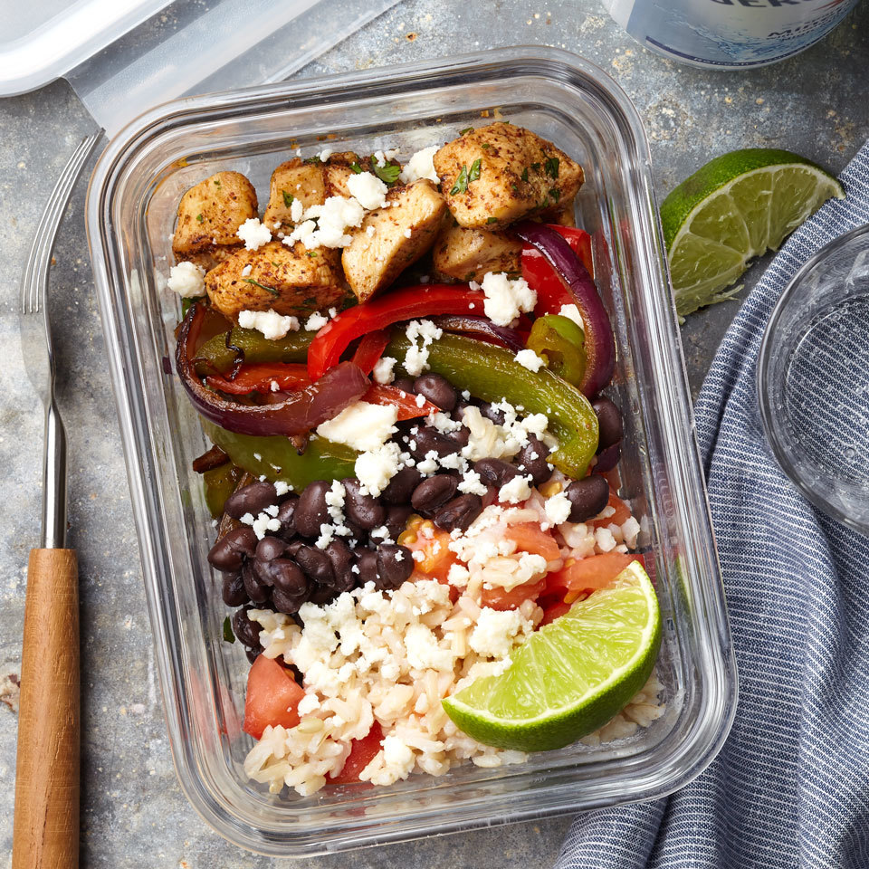 Meal-Prep Cilantro-Lime Chicken Bowls Trusted Brands