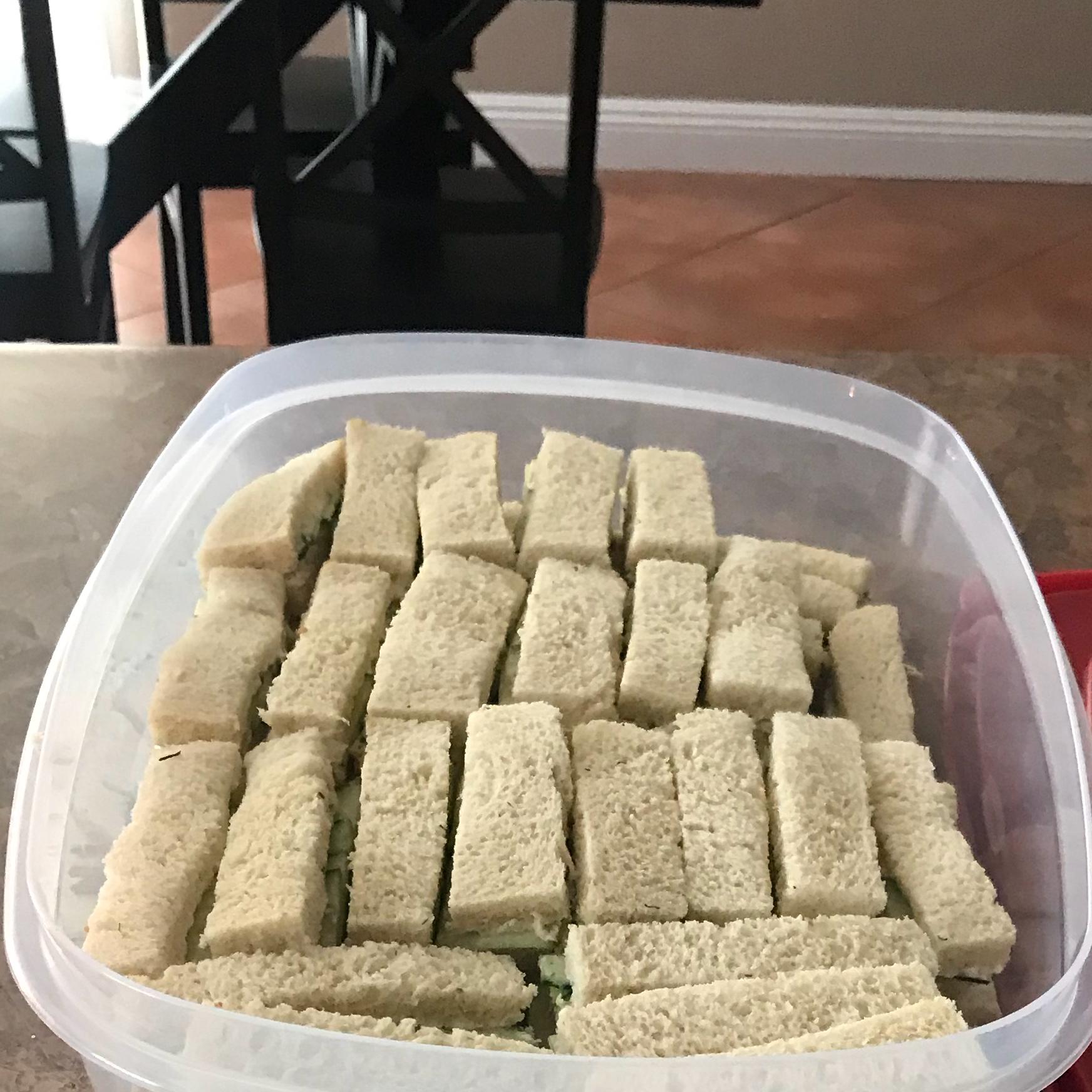Cucumber Sandwiches III