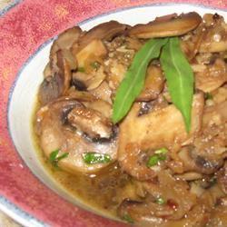 Mushroom Saute Alida Rovetto