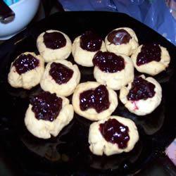 Peanut Butter Thumbprint Cookies I Stephanie Hamilton