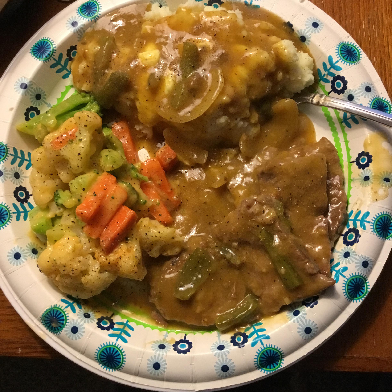 Grandma's Slow Cooker Swiss Steak Barb