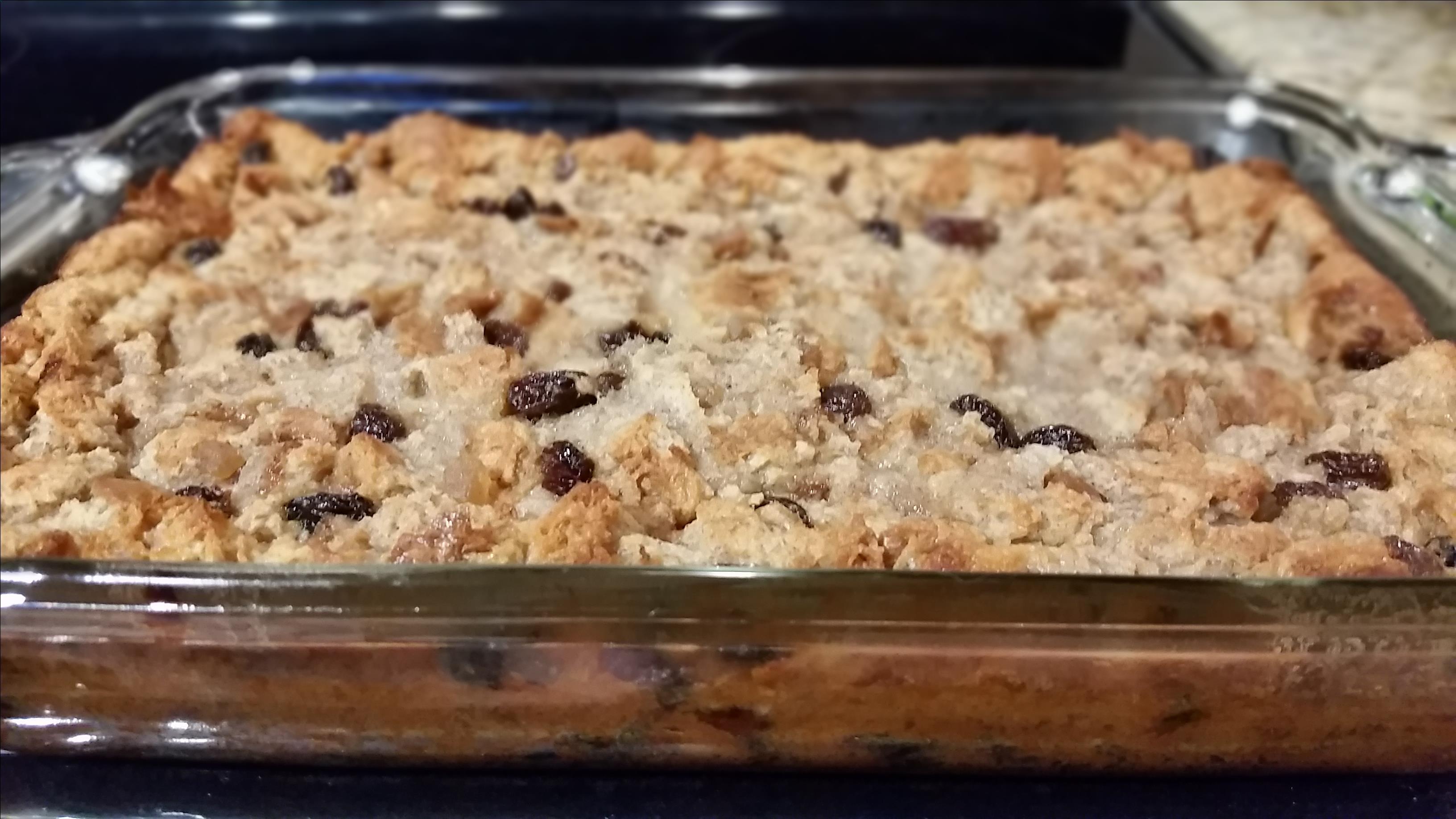 Best Bread Pudding with Vanilla Sauce Steve Boer