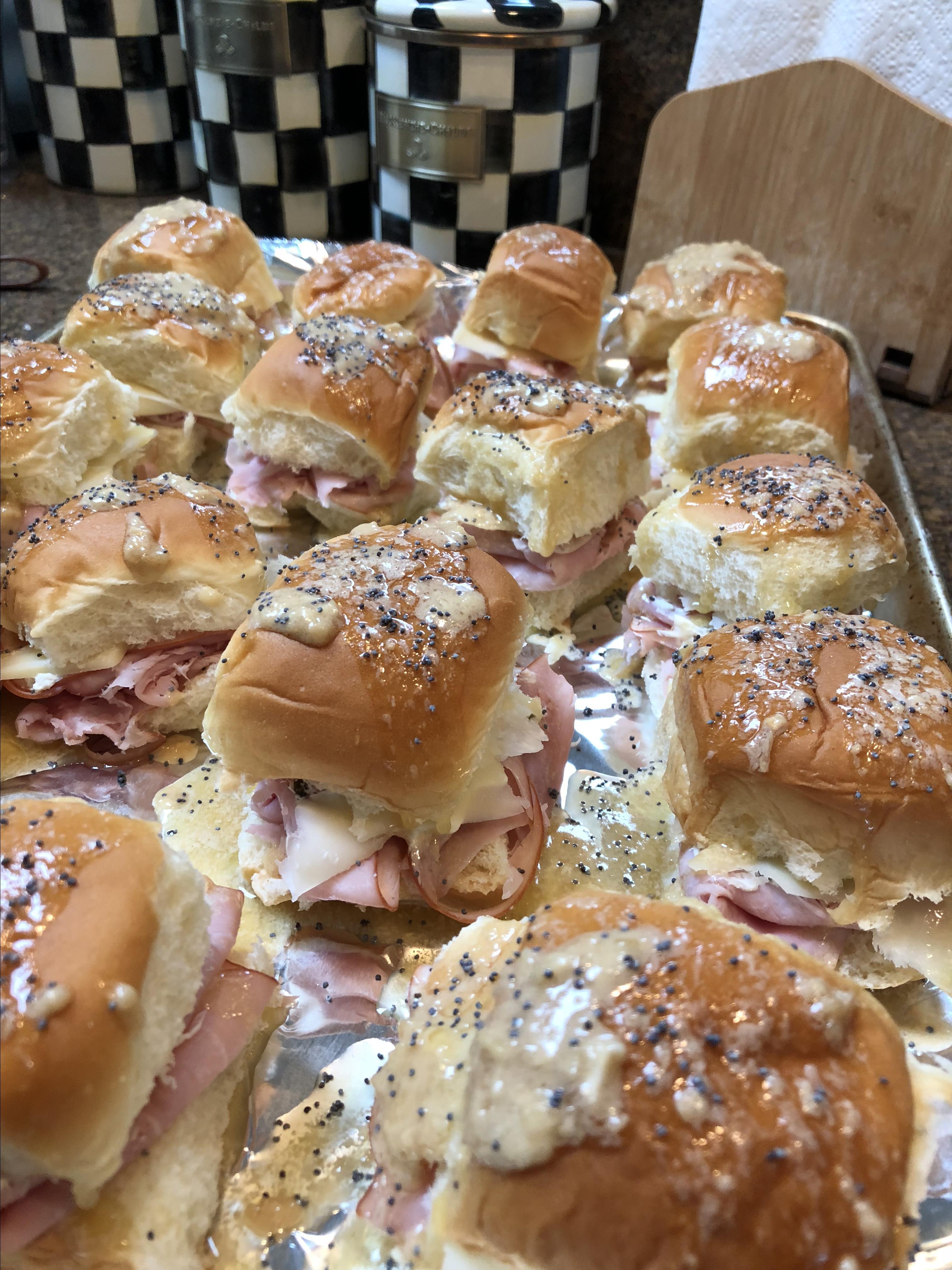 Sassy Tailgate Sandwiches