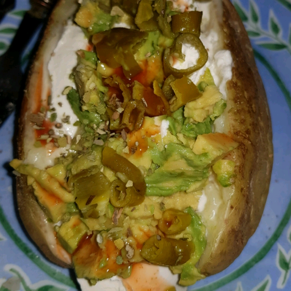 Microwave Baked Potato Eva
