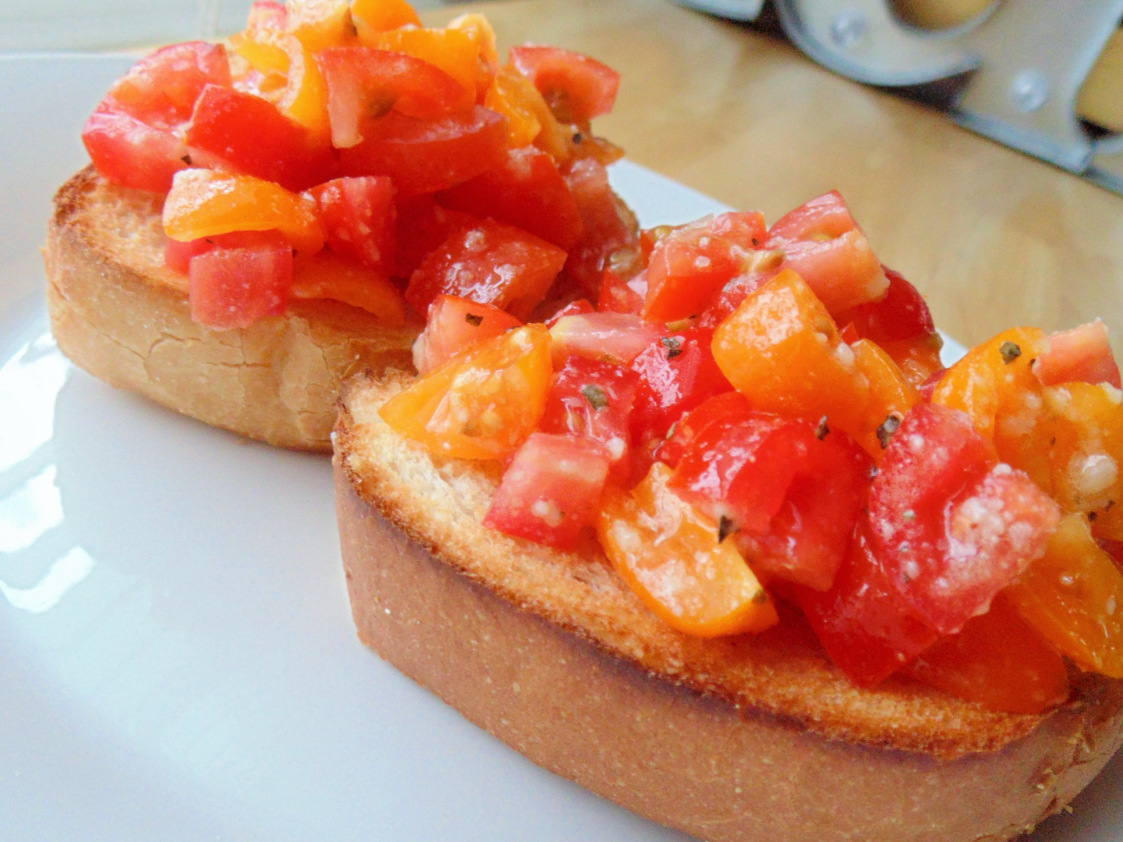 Best Bruschetta Ever