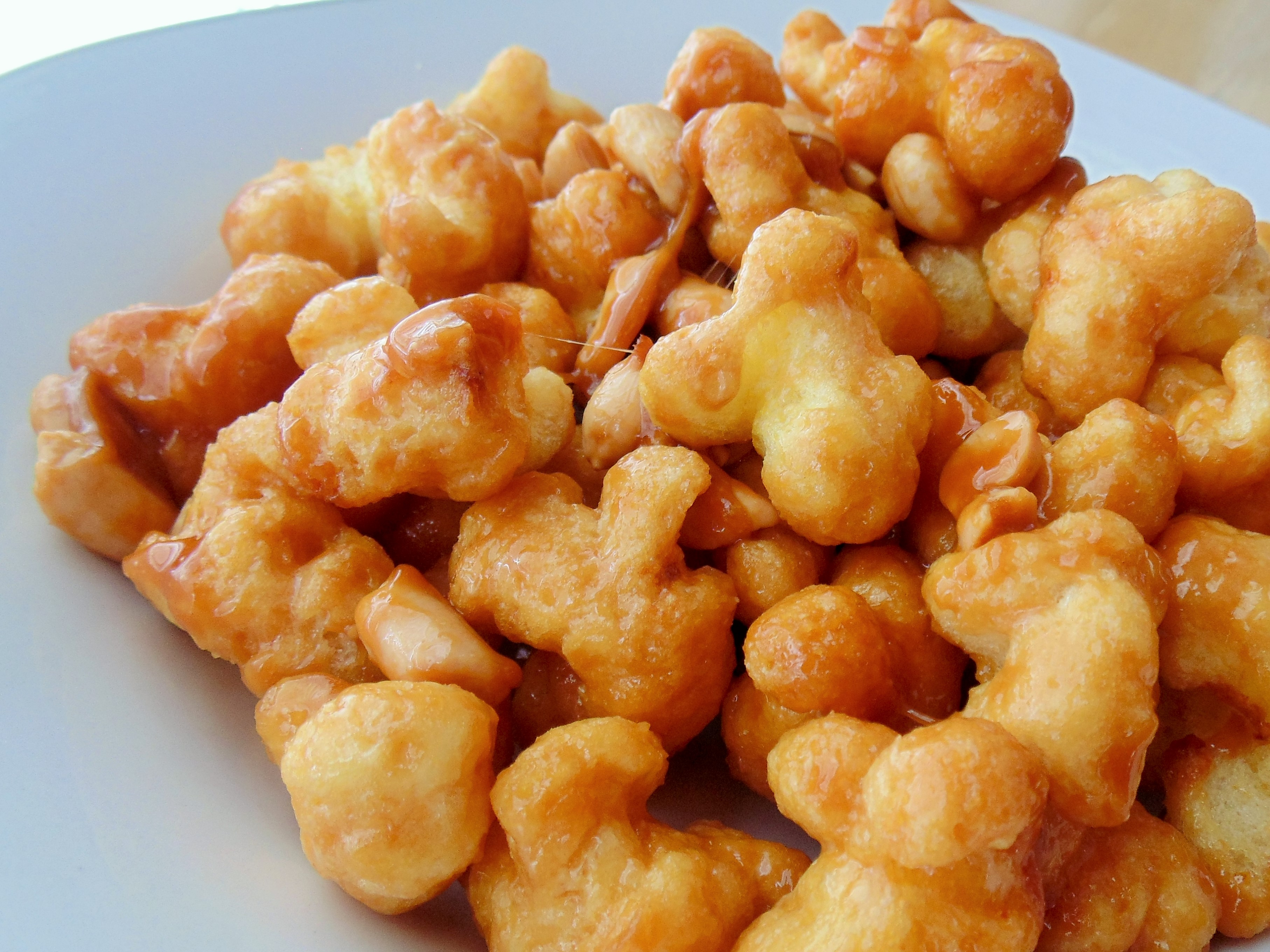 Puffed Caramel Corn