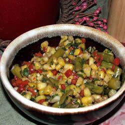 Summer Corn Salad with Asparagus TOOHOT4U