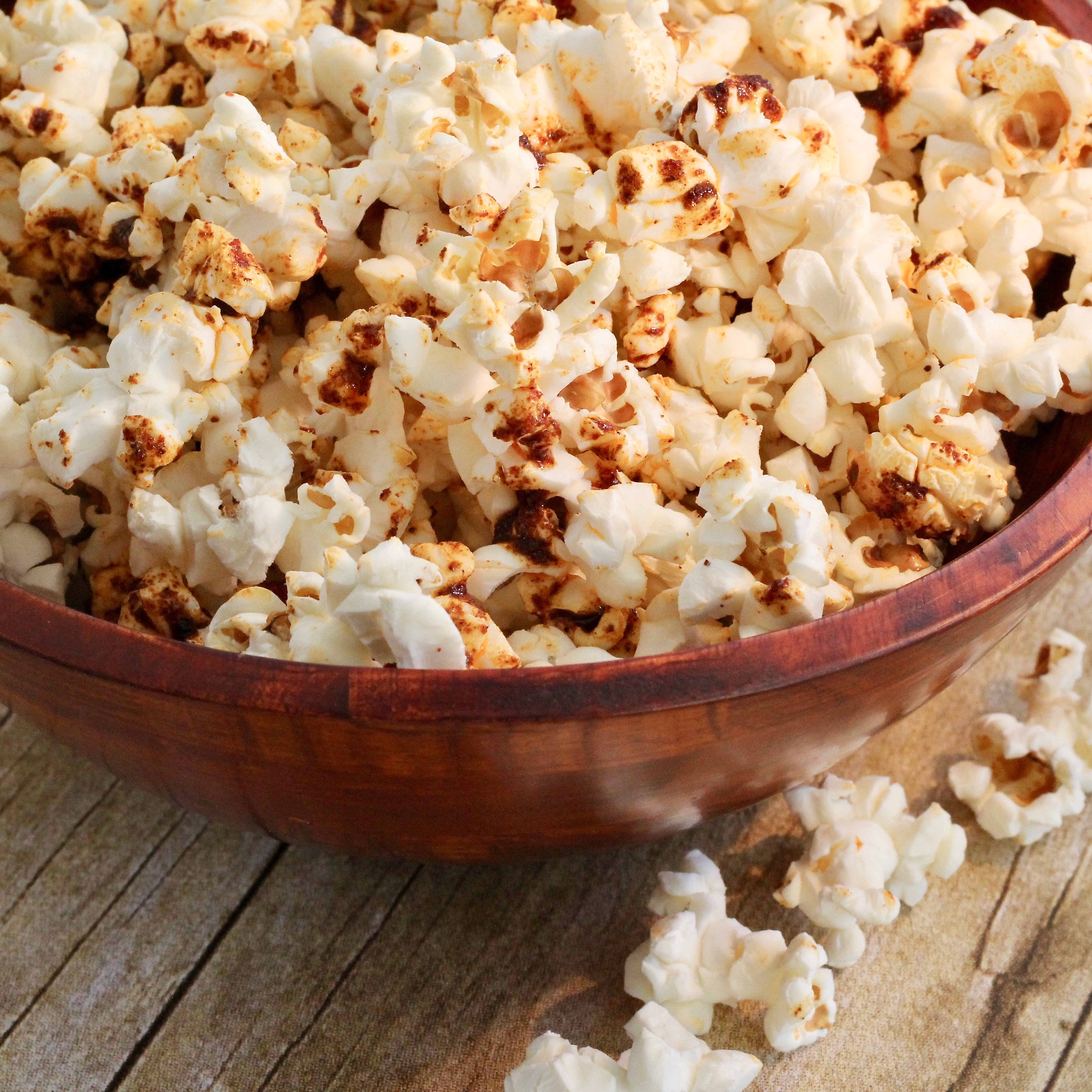 Butter Popcorn With Sumac lutzflcat