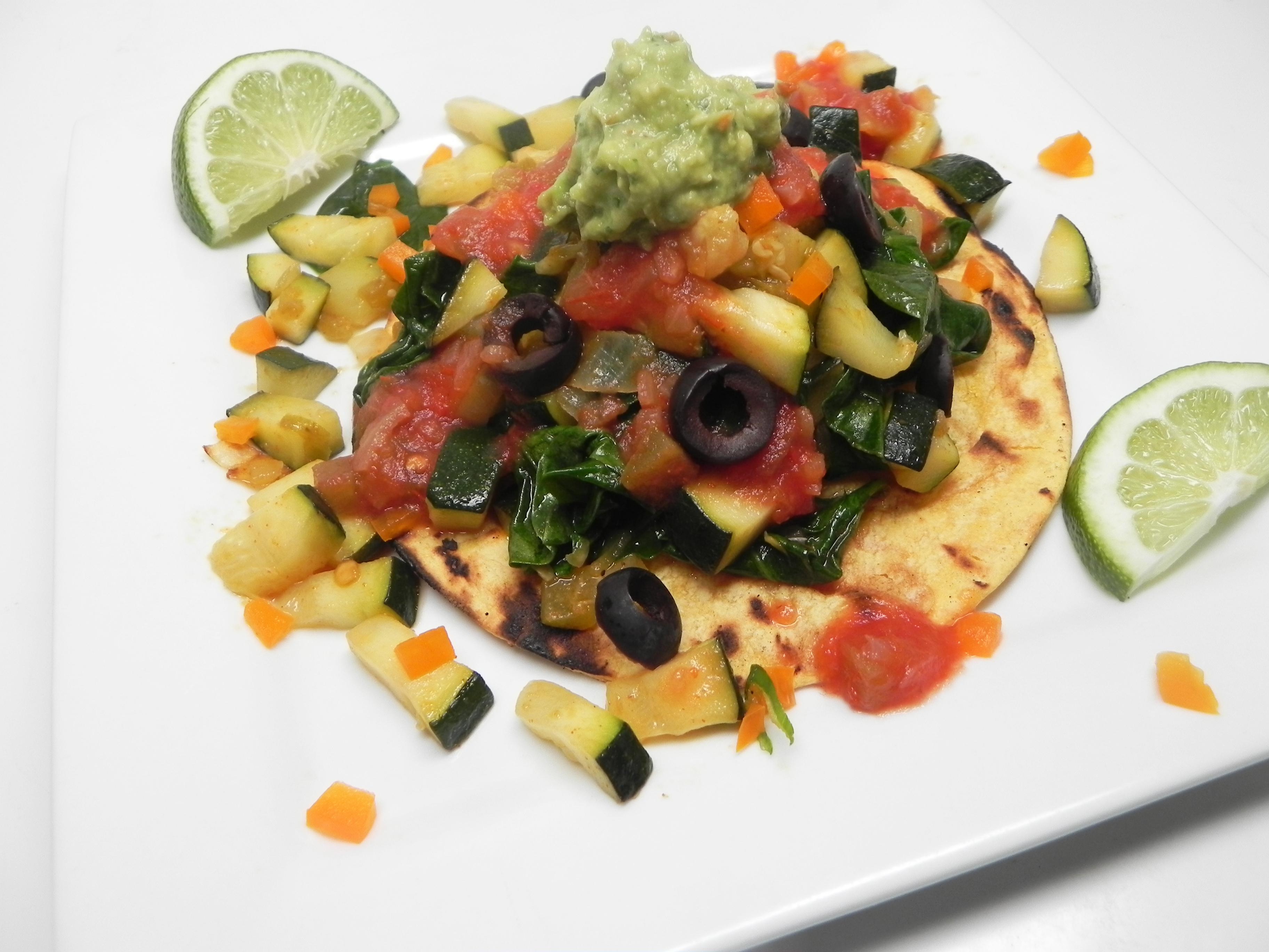 Vegan Garden Tacos