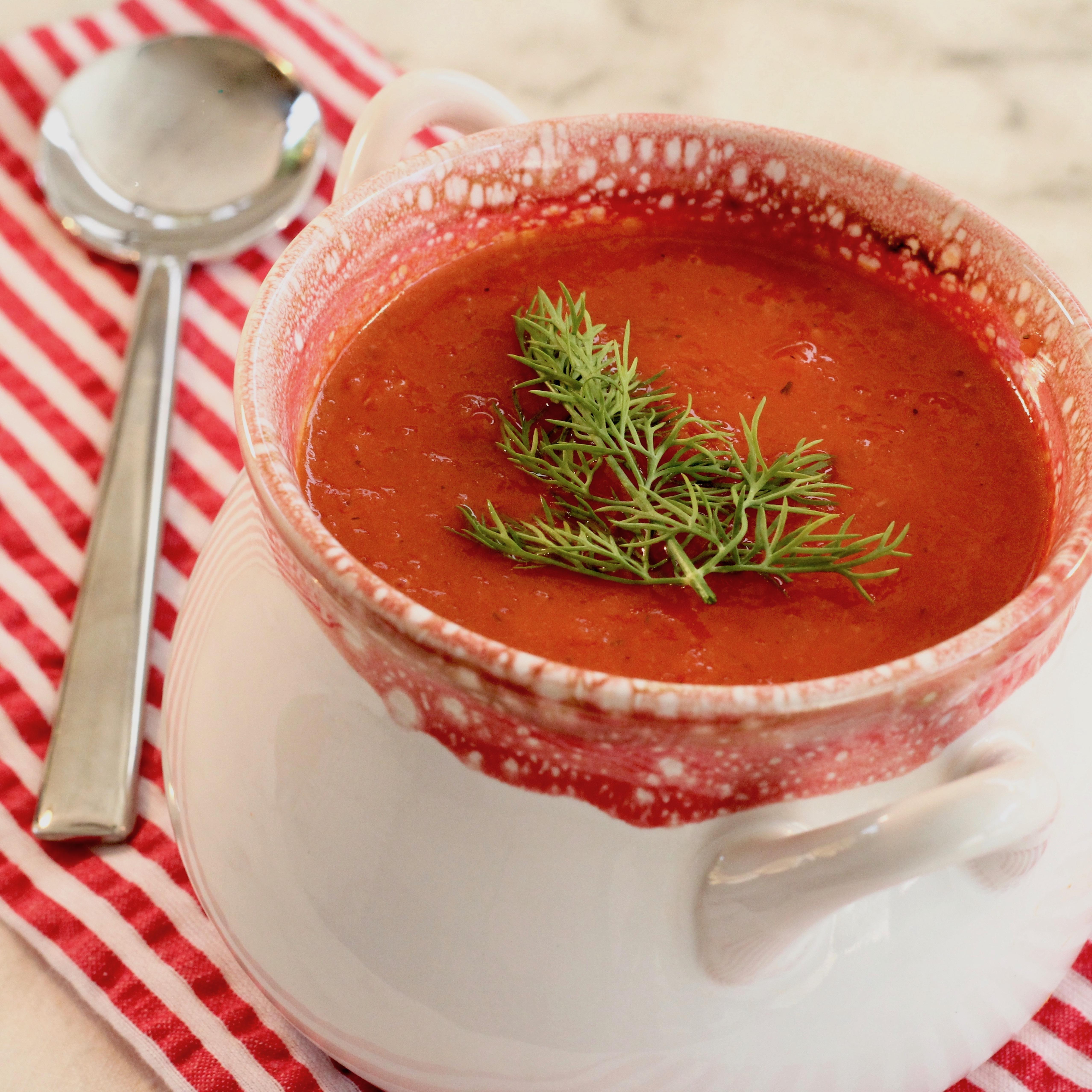 Tomato Dill Soup lutzflcat