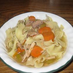 Old Man's Turkey Noodle Soup J.D.